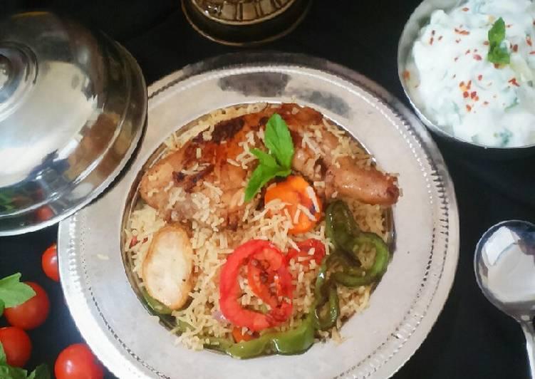 Tips How To Brew Tasty Arabic Biryani -Chicken Maqlooba