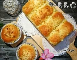 Roti manis & roti sosis metode roti taiwan BBC