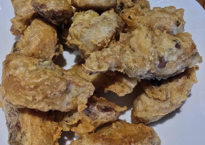 Simple Way to Prepare Favorite Fried Chicken my Own Way