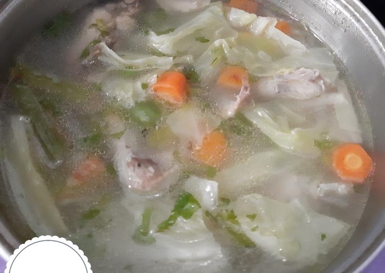 Resep Sop Ayam Yang Populer Bikin Ngiler