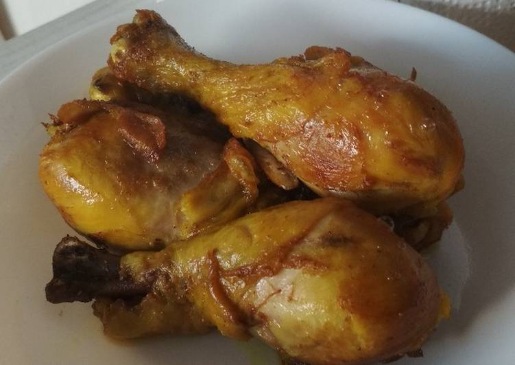 Ayam Goreng Bumbu Bubuk. Recook resep Uni Mandy Mika's Kitchen