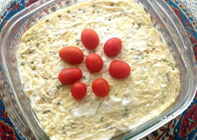 Salad Olvieh(Olivier salad)