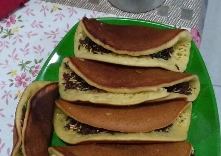 Martabak Kecil lipat Coklat keju