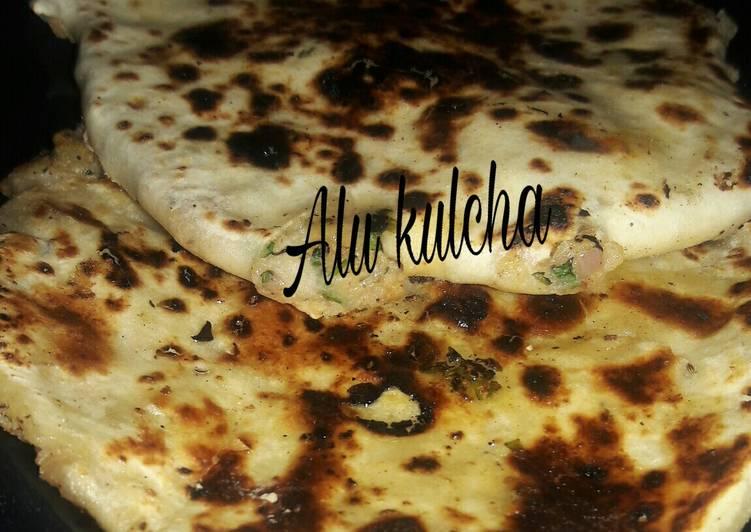 Simple Way to Prepare Award-winning Alu kulcha