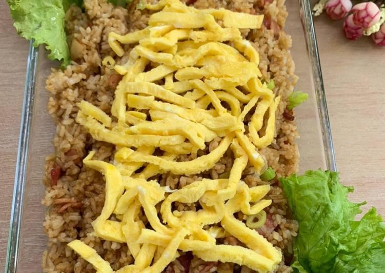Nasi Goreng Smoked Beef (easy)