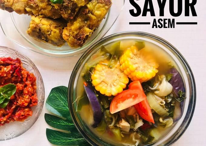 sayur asem sunda | menu sehat nggak sampe 20ribu - resepenakbgt.com