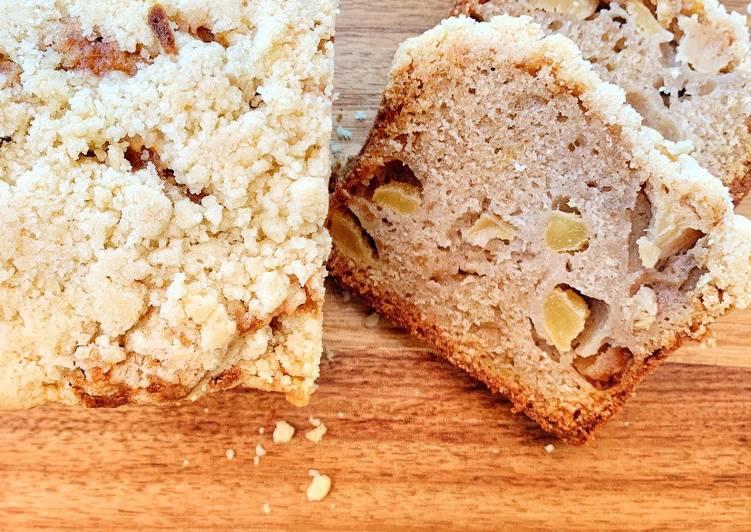 Le moyen le plus simple de Préparer Délicieuse Crumble cake poire -pomme / amaretto de Yotam Ottolenghi @4PassionFood