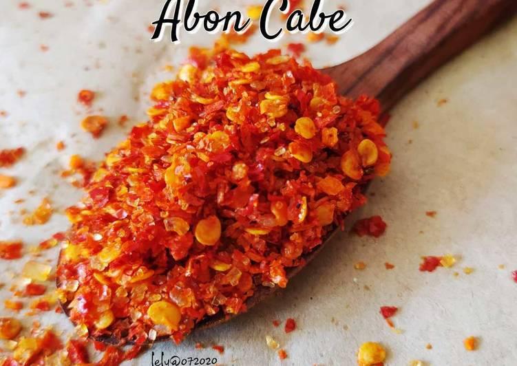 Homemade Abon Cabe