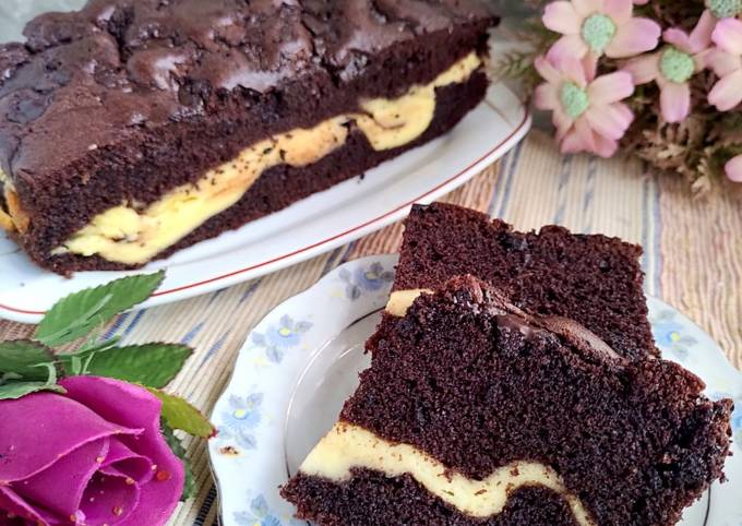 Chocolate Marble Cheese Cake
