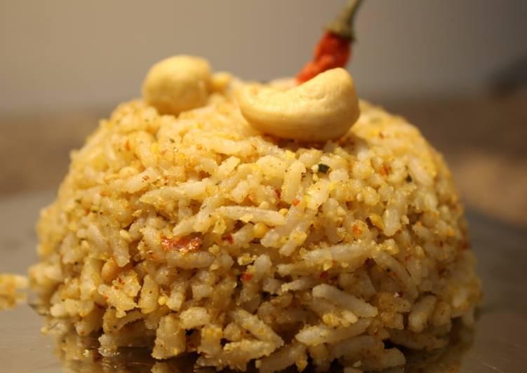 Simple Way to Make Perfect Sesame Rice   Ellu Sadam