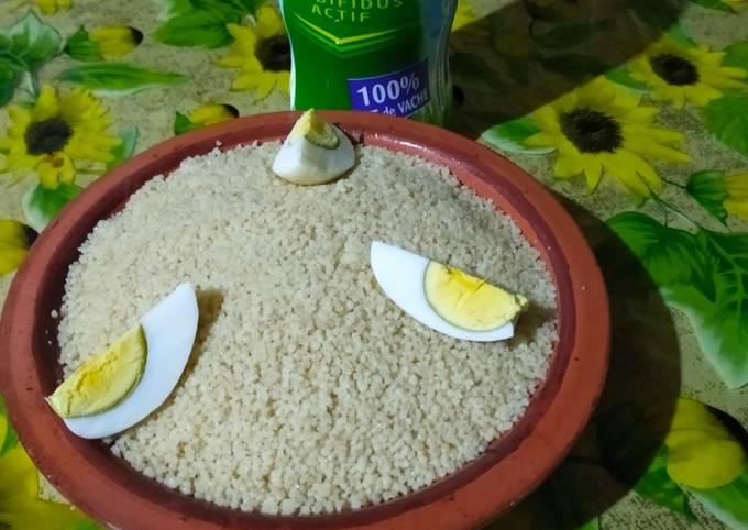 Couscous bio healthy avec le blé complet