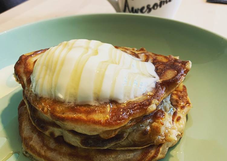 Apple & Cinnamon Scotch Pancakes