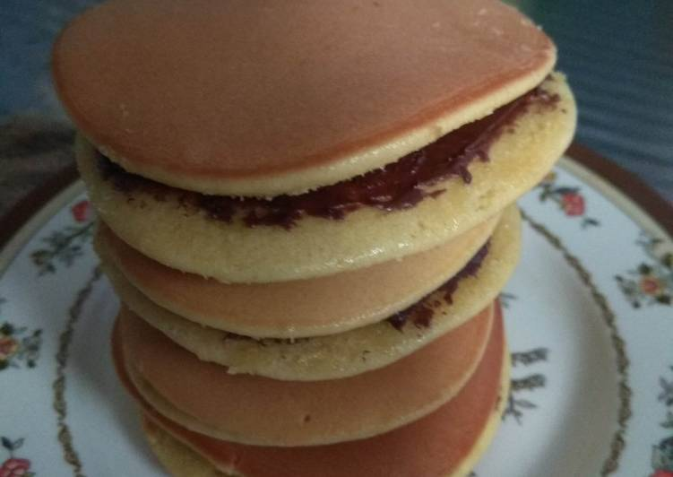 Dorayaki simple anti gagal dorayaki teflon