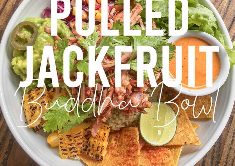 VEGAN RECIPES: Pulled Jackfruit Buddha Bowl