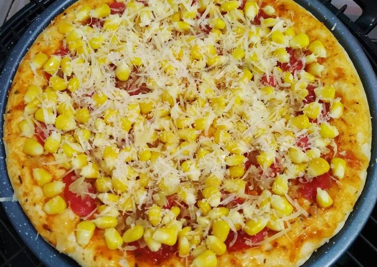 Resep Pizza teflon simple enak terbaru