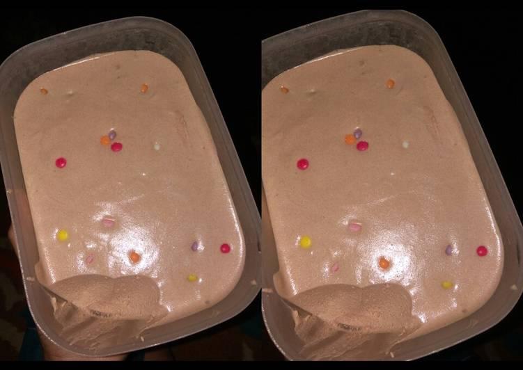 6. Ice cream praktis rumahan