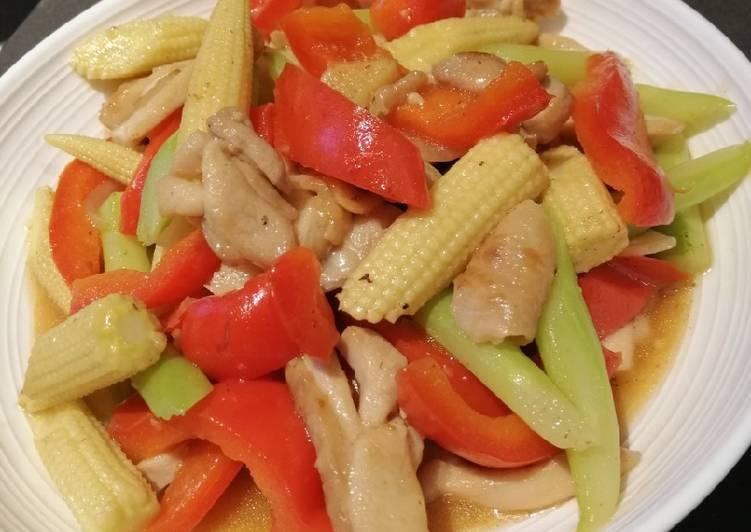 Recipe: Delicious Chicken Mix