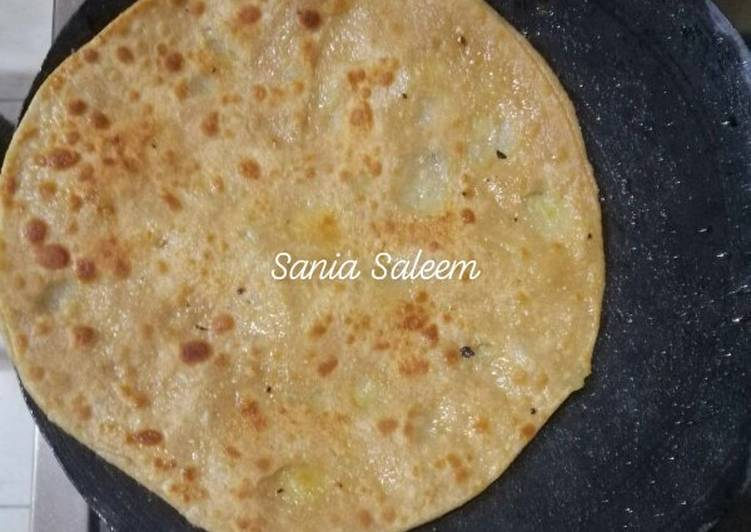 Recipe of Quick Aloo bhare Parathe