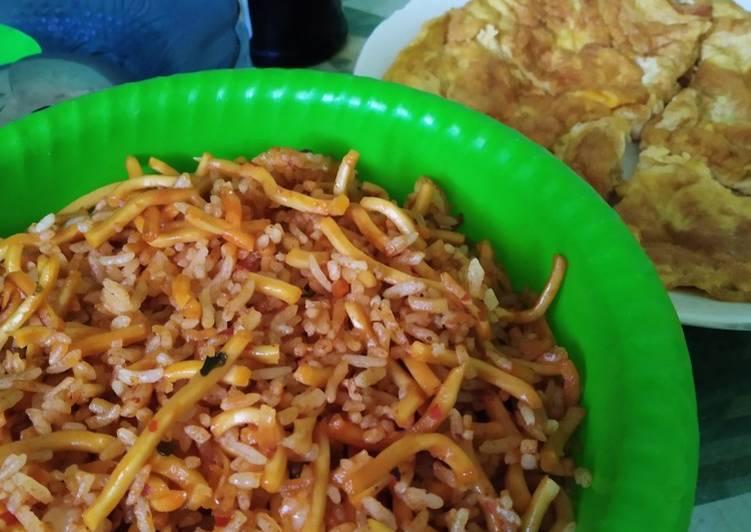 67. Nasi Mawut Goreng Aceh - ala Mamah Afa