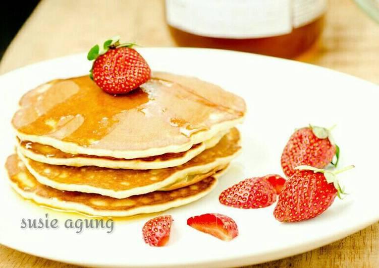 """Resep Pancake pisang """"kilat"""" oleh Susi Agung - Cookpad"""
