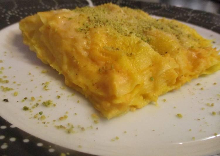 Recipe: Yummy Lasagne con besciamella ala zucca