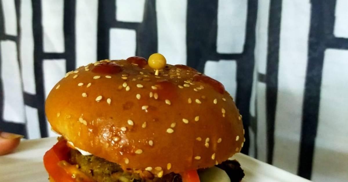 Healthy Burger Recipe By Aadya Cookpad