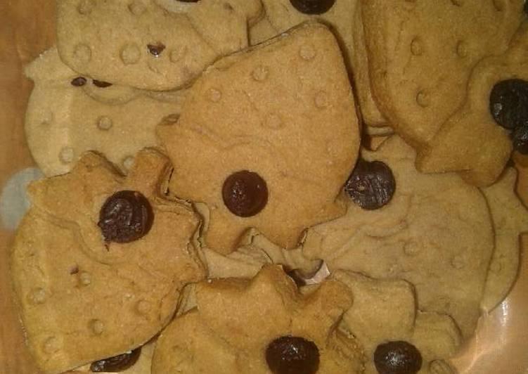 Milo cookies eggless