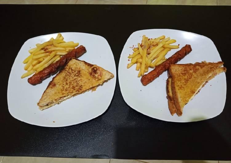 Resep Sandwich teflon ala hotel Paling Enak