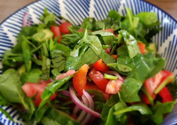 Recipe of Ultimate Summer Garden Salad with Balsamic Citrus Dressing