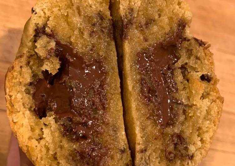 Recipe: Perfect Cookies huile d'olive et chocolat