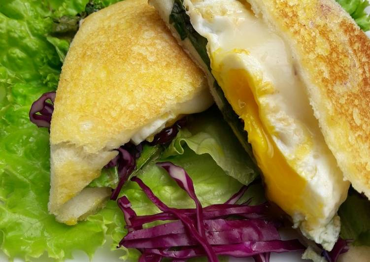 Resep Sandwich vegetables with mozarella ala Ummi Farid Paling Mudah