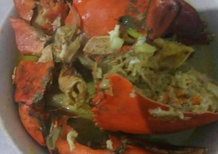 Kepiting bumbu kare