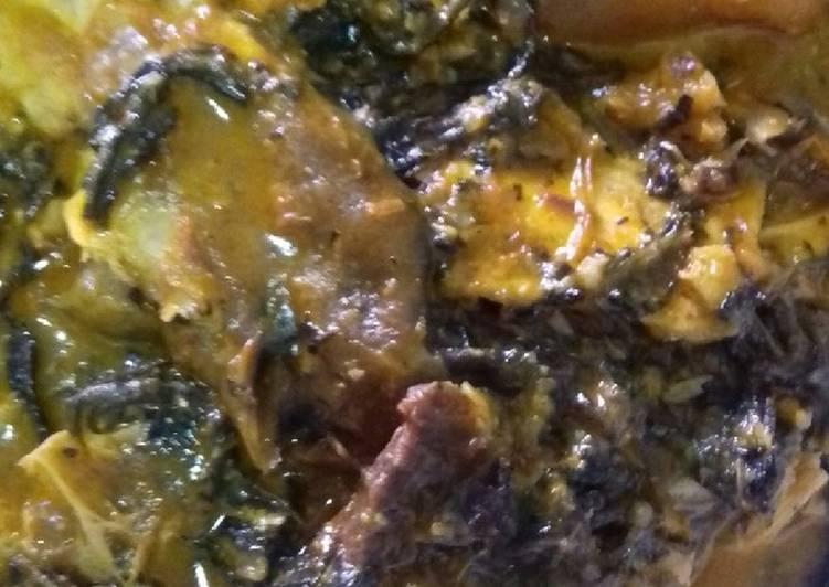 Recipe of Quick Bitterleaf soup