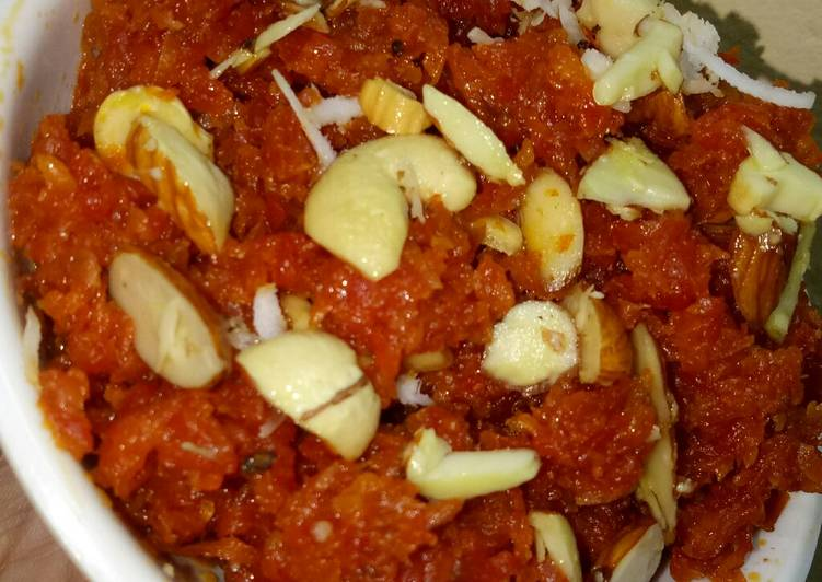 Another recipe of mine Carrot halwa
