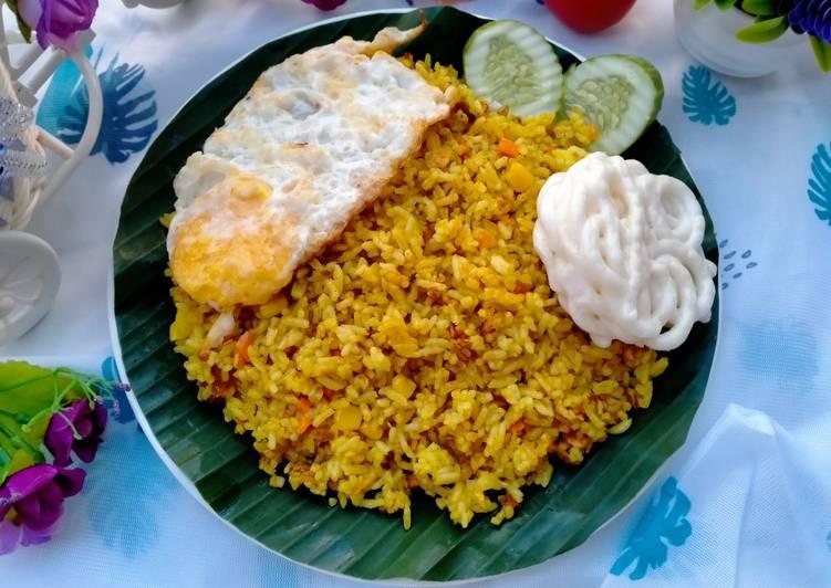 Nasi Goreng Kunyit Nikmat Dan Sederhana
