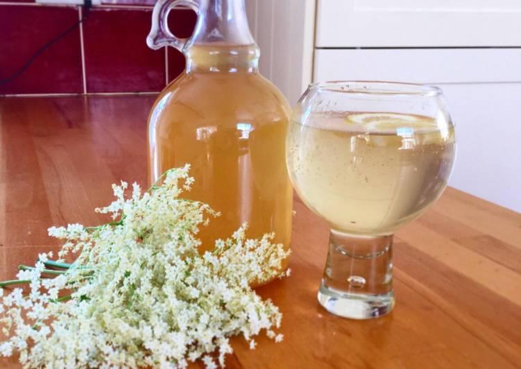 Recipe of Any-night-of-the-week Elderflower Cordial #mycookbook