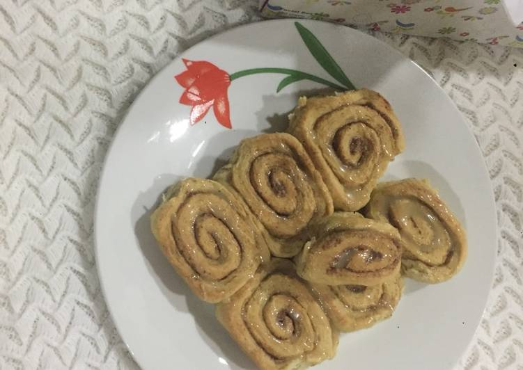 Recipe of Homemade Cinnamon rolls