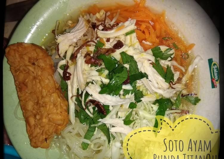Resep Soto Ayam yang Menggugah Selera