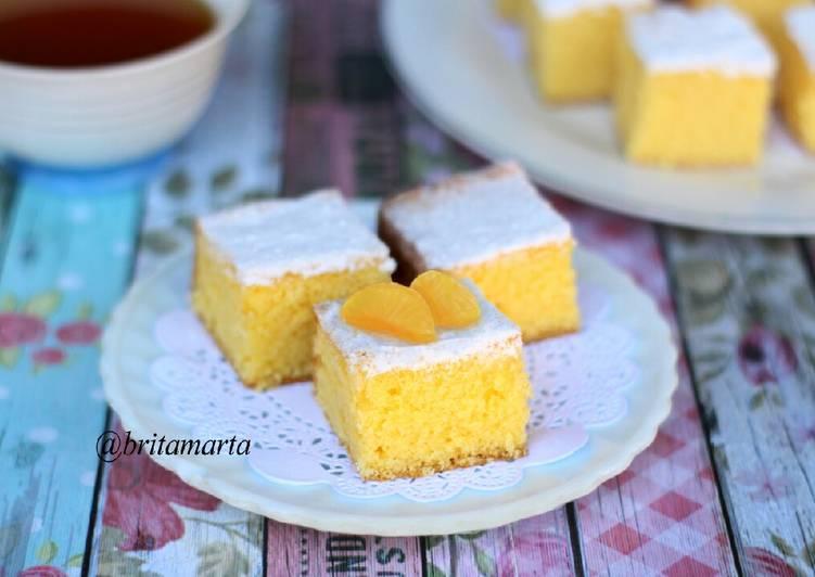 Bolu Jeruk / Orange Cake