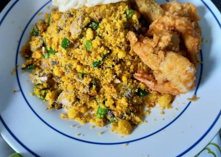 Nasi Jagung Goreng seafood