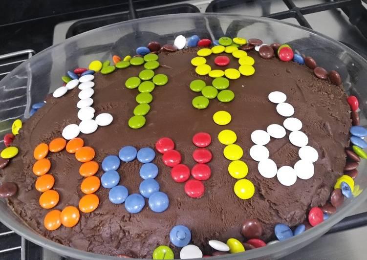 Recipe: Appetizing Chocolate birthday cake