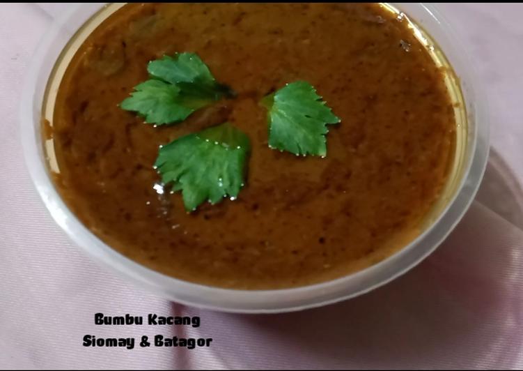 Bumbu Kacang Siomay & Batagor