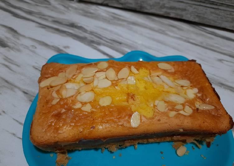 Tutorial Membuat Resep Sempurna Dari Sponge cake keju almond recook resep @panda bali