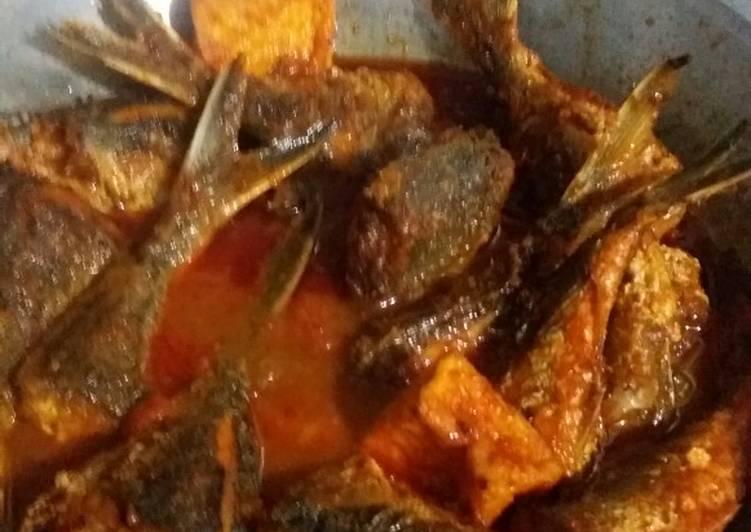 Balado ikan barakuda