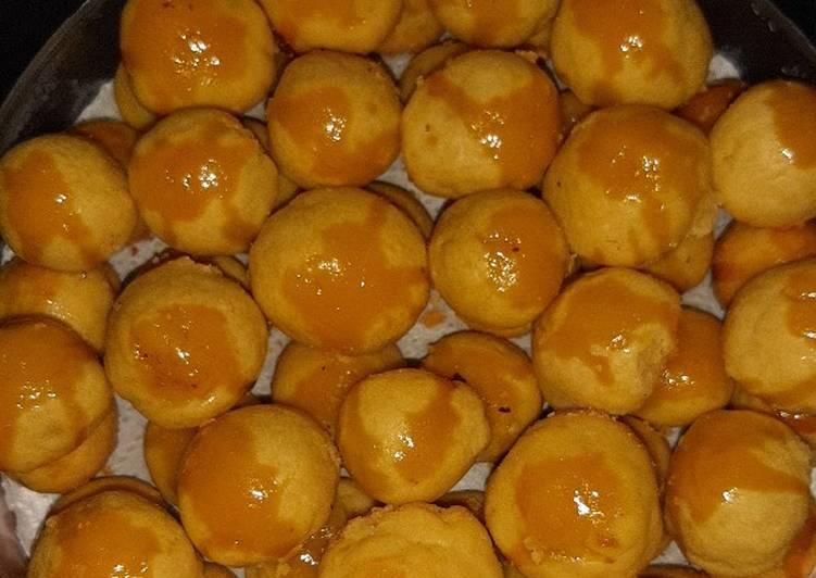 Nastar nanas lumer dan lembut ukuran sendok (tanpa oven)