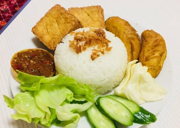 Nasi ayam lamongan
