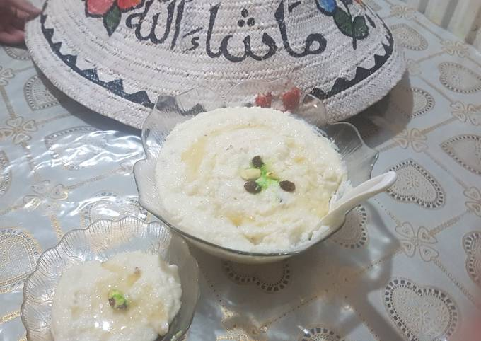 Recipe: Appetizing Milky rice pudding