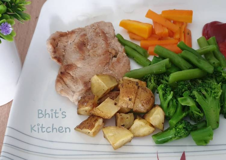 Resep Ayam Grill Menu Diet 01 Oleh Bhit S Kitchen Cookpad