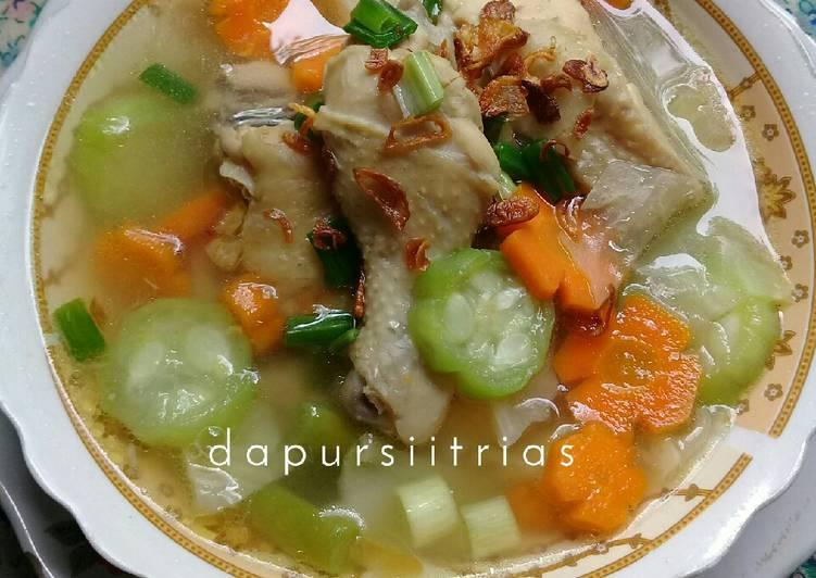 Sup Ayam Aneka Sayur