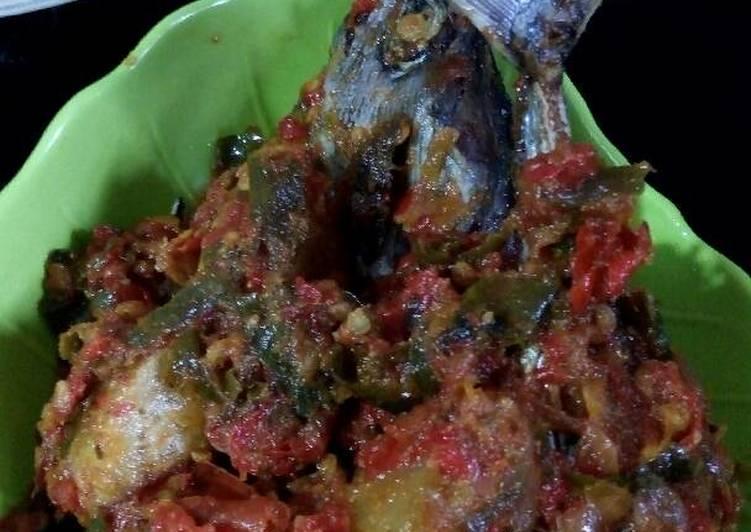 Ikan tongkol balado dua warna #BikinRamadhanBerkesan